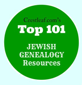 Named one of Crestleaf's Top 101 Jewish Genealogy Resources