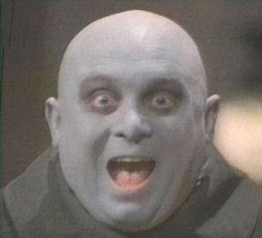 Michael Roberds as Fester in The New Addams Family