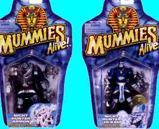 The two Night Hunter toys of the 2nd set